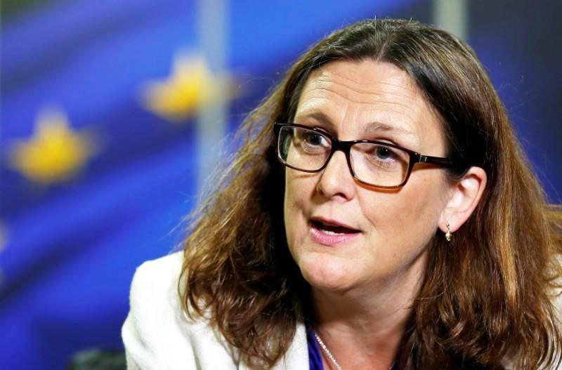 """La comisión de Comercio de la UE, Cecilia Malmstrom, dijo que las partes están cerca de un acuerdo, """"estamos comprometidos porque ya casi llegamos"""""""