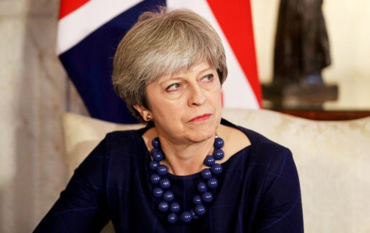 In line with relevant Security Council Resolutions, we regard East Jerusalem as part of the Occupied Palestinian Territories, PM Theresa May said.