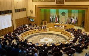 """The decision has no legal effect ... it deepens tension, ignites anger and threatens to plunge region into more violence and chaos,"" the Arab League said in Cairo"