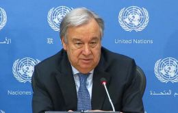"""Human rights have been one of the three pillars of the United Nations, along with peace and development,"" said Secretary General António Guterres in his message"
