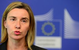 EU foreign policy chief Federica Mogherini, who chaired talks between Netanyahu and EU ministers, said no European leaders plan to adopt Trump's position