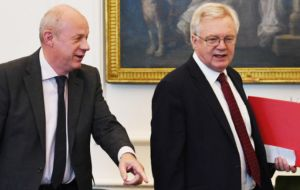 The Joint Ministerial Committee in London will be attended by First Secretary of State Damian Green and Brexit Secretary David Davis for the UK government.