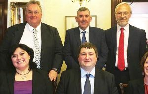 New Members of the Legislative Assembly of the Falkland Islands held on November 9, 2017.