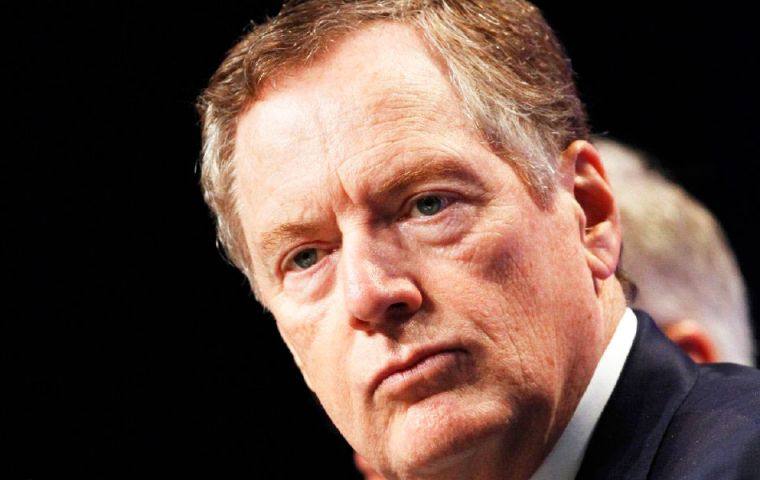 U.S. Trade Representative Robert Lighthizer voiced concern that the WTO was becoming a litigation-centered organization.