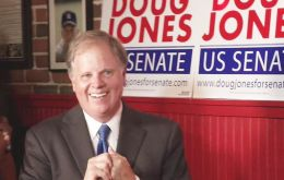 Doug Jones victory deals a blow to Republicans, narrowing their majority to 51-49 in the Senate. With 99% of the votes counted, Moore refused to concede