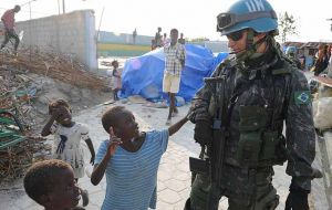 The country had a leading role in the United Nations Stabilization Mission in Haiti, MINUSTAH, which concluded its activities last October after 13 years