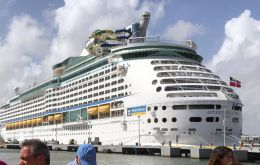 Royal Caribbean's doctors treated the sickened passengers with over-the-counter medications, the company said.