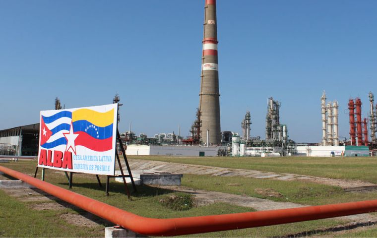 """Since August 2017, the Cienfuegos refinery has been operating as a fully Cuban state entity,"" the ruling Communist Party's newspaper Granma wrote."