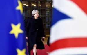 The UK is now halfway out of the EU - or, rather, May's government has now used up half the time that was available to negotiate an amicable divorce settlement