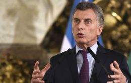 """We've created a formula that defends (retirees) from inflation and guarantees that they will be better,"" Macri said.""Our priority is to take care of the retirees."""