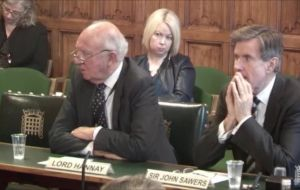 """The EU solidarity issue is now, I'm afraid, in play – and I think we will lose it"", Lord Hannay told the Commons Foreign Affairs Committee"