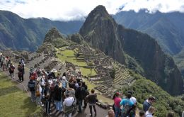 In 2016, the Historic Sanctuary of Machu Picchu received 1.4 million visitors and had an average growth of 6 percent during the last five years.