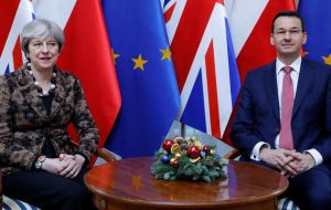 May gained her new nickname after holding talks in Warsaw with Poland's Prime Minister Mateusz Morawiecki.