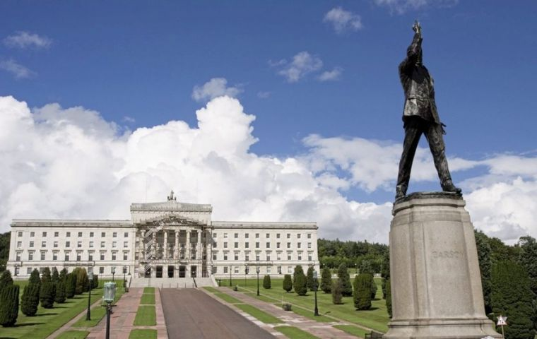 The Stormont executive collapsed at the start of 2017 after a bitter row between the DUP and Sinn Féin over a failed energy scheme.