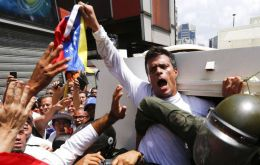 Leopoldo López, former mayor of the Caracas municipality of Chacao, has been imprisoned since 2014. He was accused for participating and promoting mass protests against the regime. Photo: Reuters