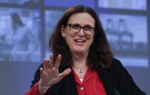 EU trade chief Cecilia Malmström wants to ink a deal by March 2018, which would likely entail a bigger beef offer than the 70,000 tons currently on the table