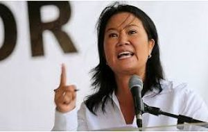 Daughter, Keiko Fujimori, narrowly lost Peru's last presidential election to Kuczynski, and her party dominates congress.