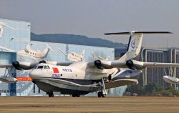 China approved development of the AG600 in June 2009, with the work taken on by Aviation Industry Corp of China, the country's leading aircraft maker.