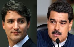 Canada has criticized the government of President Nicolás Maduro over its human rights record. More than 150 people were killed during months of protests