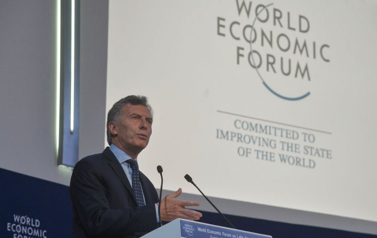 Last week Congress approved Macri's pension reform plan, part of his campaign to cut Argentina's fiscal deficit to 3.2% of GDP from 4.2% currently.
