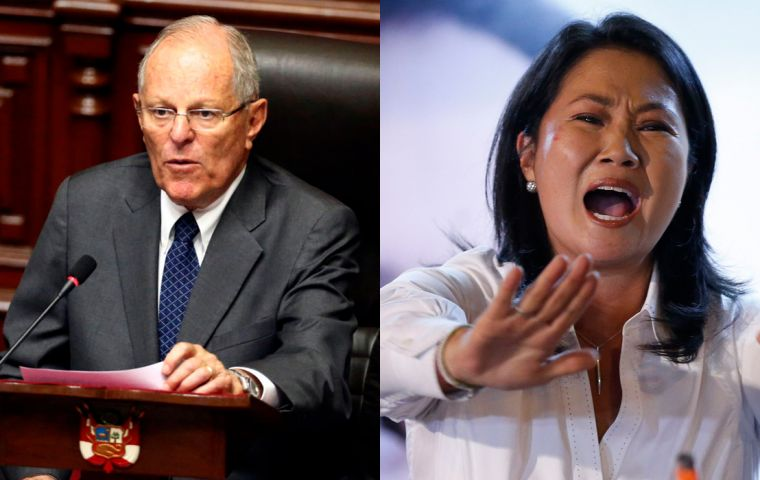 Peru's president was questioned for four hours at the presidential palace by prosecutor Hamilton Castro, who left the palace without making comments