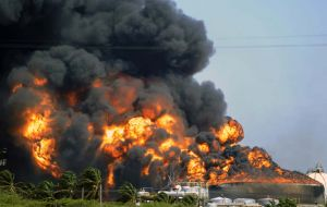 The most serious accident of the oil industry of the country occurred late august 2012, when an explosion triggered a fire that left 42 dead and hundreds injured.