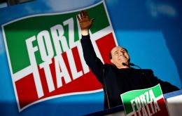 Currently the largest number of seats looks set to be taken by an alliance centered on Silvio Berlusconi's Forza Italia.