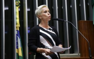 Cristiane Brasil, daughter of the leader of the government-allied Brazilian Labor Party, Roberto Jefferson, was appointed on Wednesday Labor minister