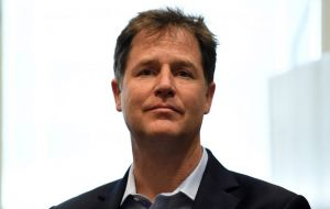 Sir Vince said it was right that former deputy prime minister Sir Nick Clegg was awarded a knighthood in the New Year Honors list.