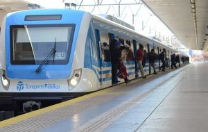 Argentina has bought 3,500 rail cars, which have already been delivered, and 107 locomotives, along with parts, machinery, tools and shipping containers.