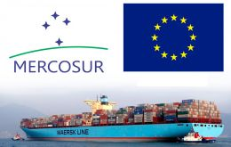 EC fruit and vegetable exports to the Mercosur countries in 2016 amounted to 241.3 million Euro, according to data from the EU Statistical Office, Eurostat