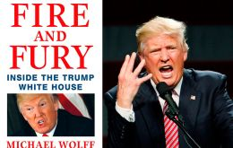 The book by Michael Wolff portrays Trump as unprepared and unfit for the demands of the presidency, and a White House in chaos in its initial six months