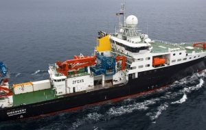 She is fitted with the most up-to-date and high-tech instruments and equipment, it is ideal for oceanic exploration.