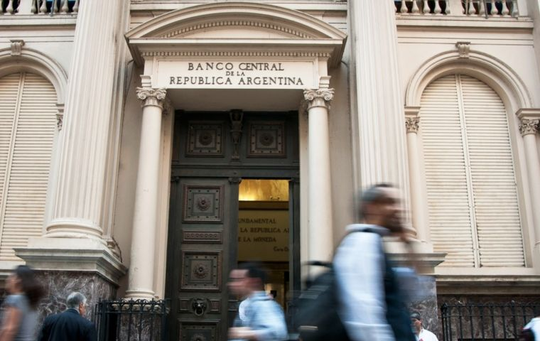 "Argentina also has a new 2019 inflation target of 10% and 5% for 2020. ""This pathway is now the objective of central bank monetary policy,"" the bank said"