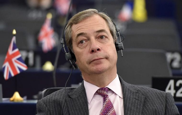 Farage, member of the EU Parliament, said he was left with the impression after the Barnier meeting that the UK and EU would easily strike a trade deal for goods.