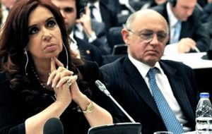 Timerman and ex president Cristina Fernandez, have been accused of helping strike an agreement with Teheran