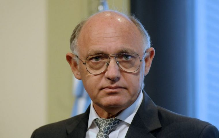 Timerman was foreign minister of Cristina Fernández 2010/2015. Previously he was Consul General in New York and later Ambassador in Washington