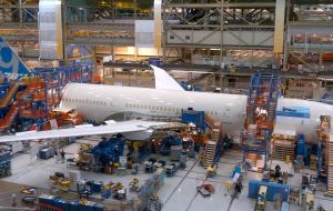 On the 787 Dreamliner program, Boeing continued building at the highest production rate for a twin-aisle jet, leading to 136 deliveries for the year.