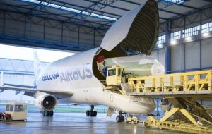 "The initial BelugaXL is expected to be flying by mid-2018. ""The whole team is really looking forward to seeing its first flight and, of course, its smiling livery"""