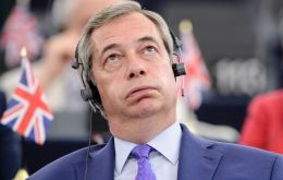 Mr Farage was one of the leading figures in the Leave campaign, which won the referendum with 51.9% of votes.