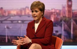 Speaking on the BBC Andrew Marr Program, Sturgeon said that people wanted to see clarity on the future relationship between the UK and Europe.