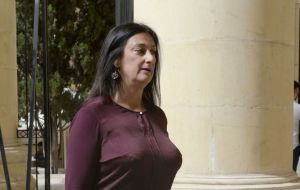 Caruana Galizia was killed in a car bomb near her home on 16 October. She was known for a blog in which she accused powerful figures of corruption.