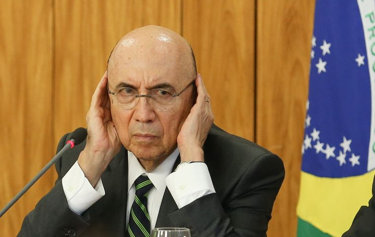 """The reaction to the rating is greater than the rating itself,"" Meirelles said. ""The question is, 'Will this have an impact on growth?', 'No, growth will continue.'"""
