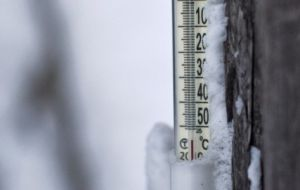 In Oymyakon, Russian television showed the mercury falling to the bottom of a thermometer that was only set up to measure down to minus 50 degrees