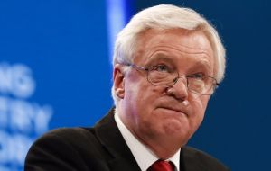 Brexit Secretary David Davis said the government would present a number of amendments to the bill when it reaches the Lords.