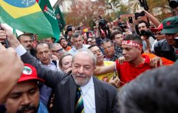 """To arrest Lula they will have first to arrest a lot of people, and I would go even further, they will have to kill people, many people"", said Gleisi Hoffmann"