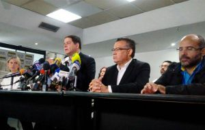 "The objective of this measure is ""to support the dialogue process"". However, the opposition issued a statement indicating that they would not resume negotiations in the Dominican Republic."