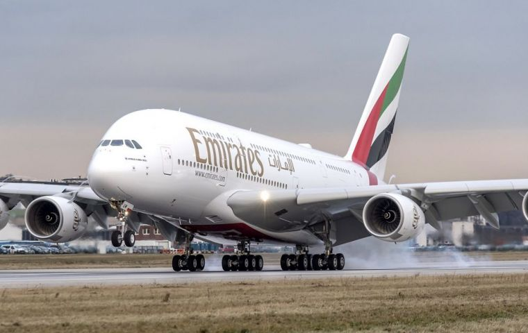 Emirates is the only airline to have put the A380 at the heart of its operations and had been expected to place an order for more of the jets at the Dubai Airshow.