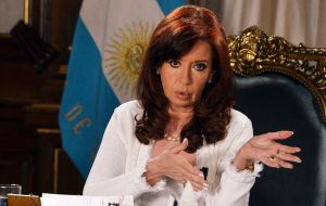 While Cristina Kirchner initially portrayed Nisman's death as a suicide, a forensic police investigation in 2017 determined that the prosecutor had been murdered