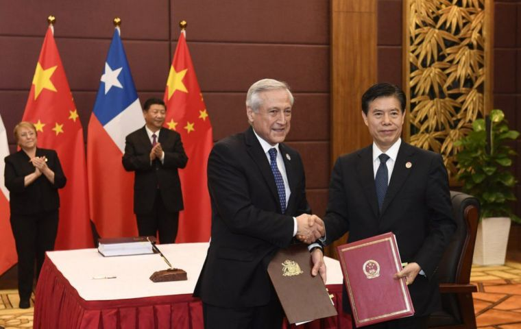 Foreign Minister Munoz said Latin America could do a lot more to stimulate trade with China and called on its nations to take advantage of the talks to improve ties.
